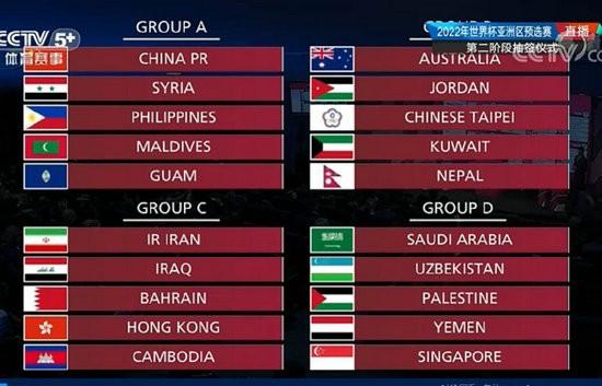 2021世预赛中国赛程时间表 国足世预赛赛程一览