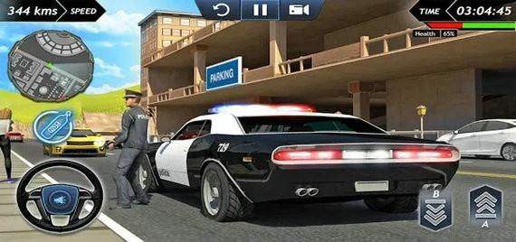 犯罪城警车模拟器破解版