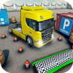 欧洲卡车停车场