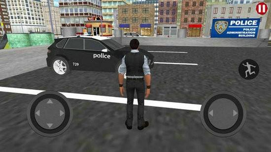 乡村警车巡查模拟中文版
