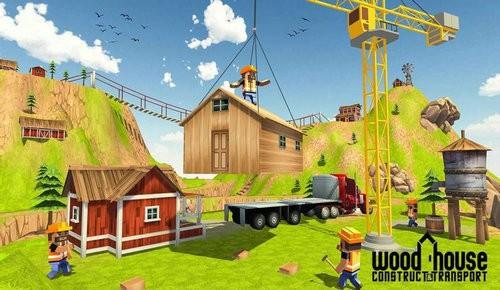 木屋建造模拟器下载