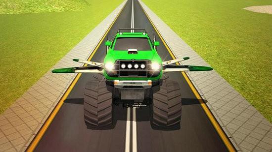 飞行卡车驾驶3D无限金币版