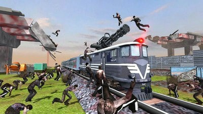 火车射击僵尸战争无限金币版