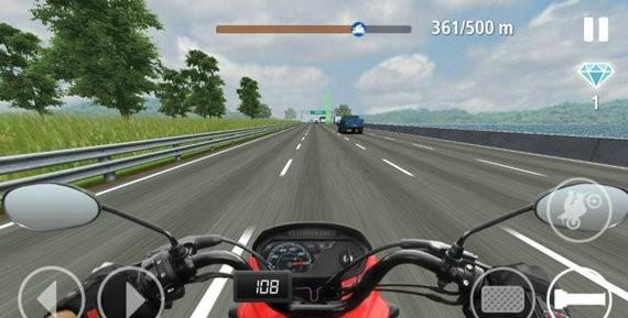 真实交通摩托破解版