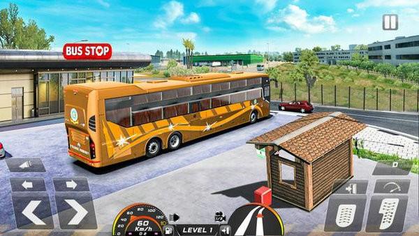 真正的巴士模拟器驾驶2021