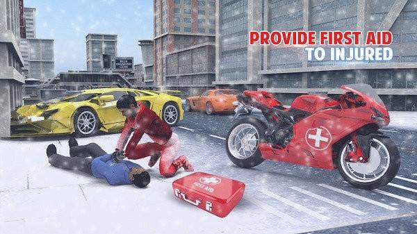 3d救护车救援驾驶手机版