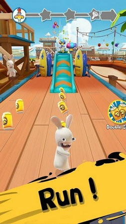 疯狂的兔子跑酷破解版无限金币无限钻石版