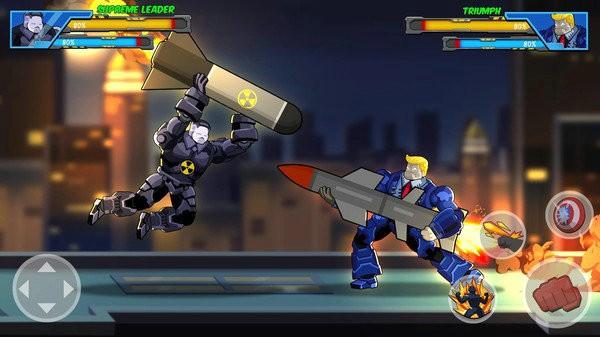 机器人超级英雄无限金币版