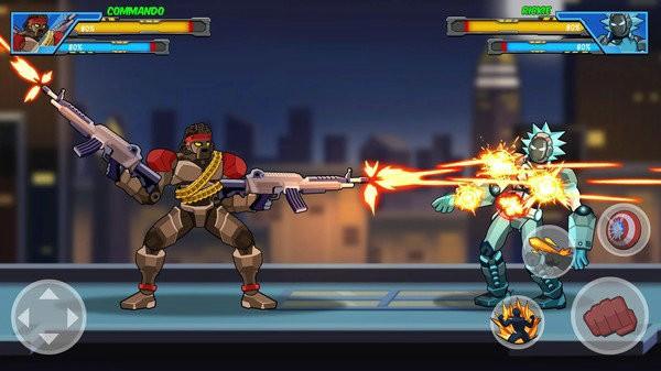机器人超级英雄游戏破解版