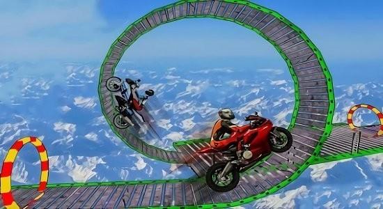 摩托车空中跳跃最新版