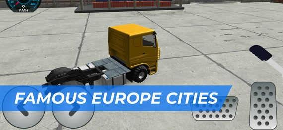 欧洲卡车司机模拟器无限金币破解版