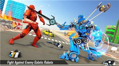 终极火球巴士机器人最新版