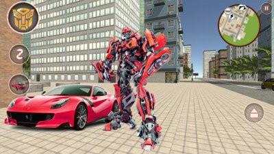 变形金刚红蜘蛛游戏手机版