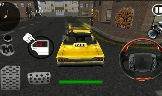 城市出租车自行车驾驶3d手机版下载