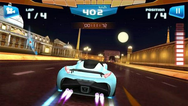 极速赛车3D无限金币版