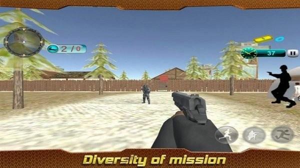 前线任务射击3d中文版