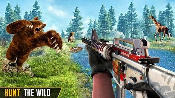 狙击手动物狩猎游戏