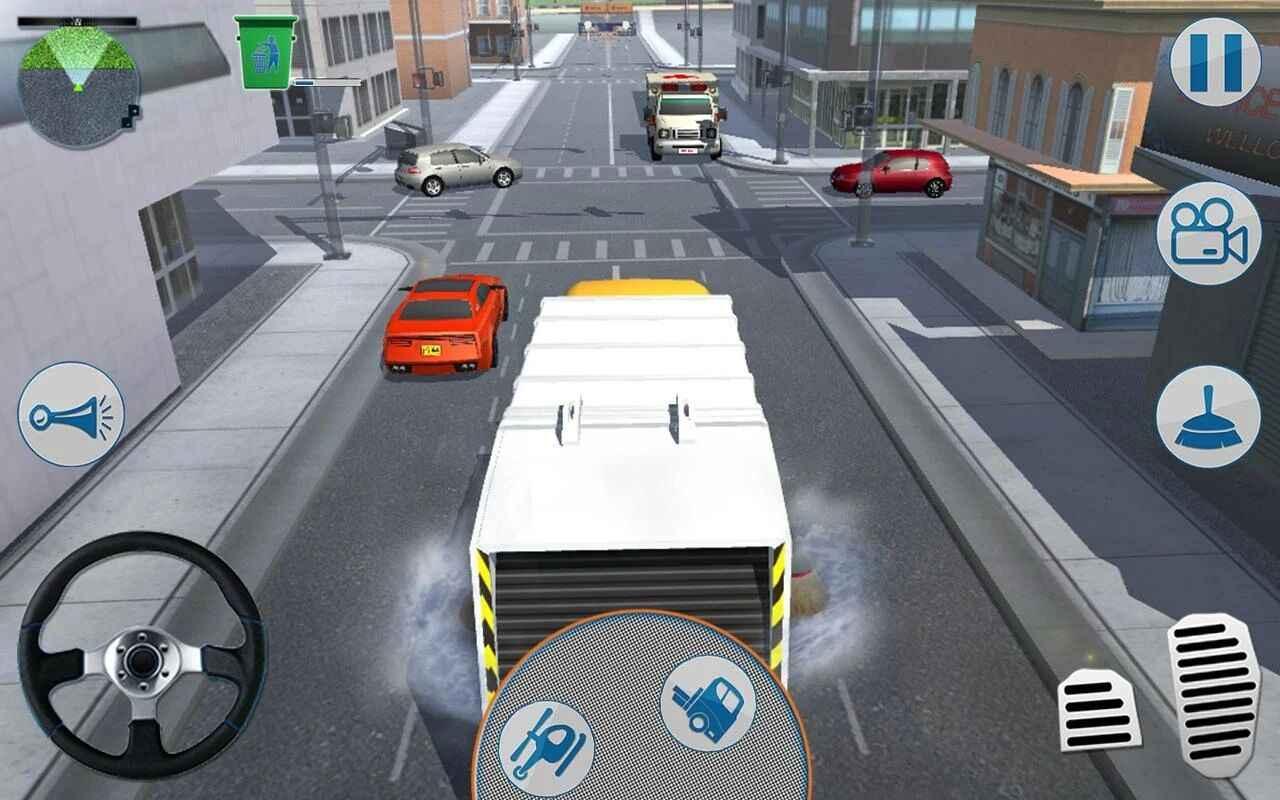 城市垃圾车模拟器无限金币版