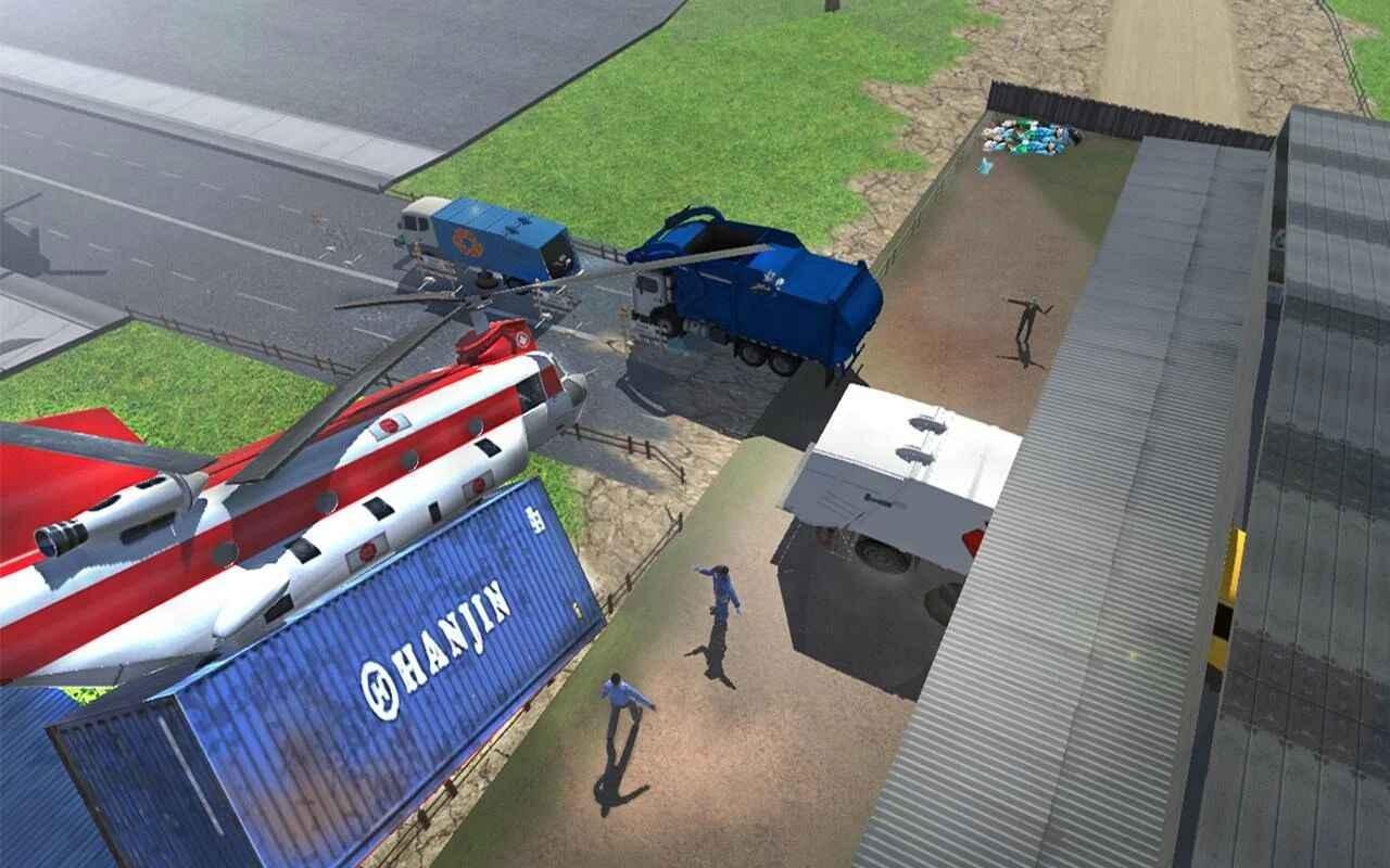 城市垃圾车模拟器无限金币版下载