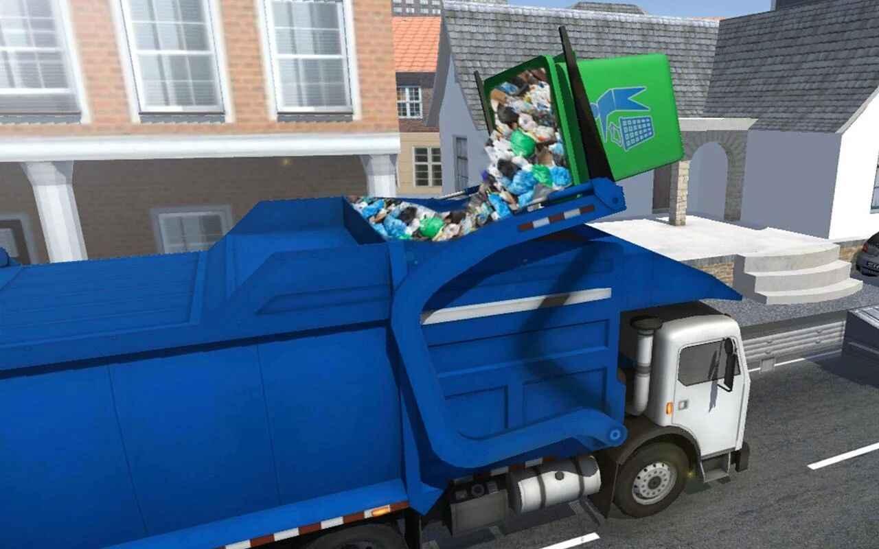 城市垃圾车模拟器破解版下载