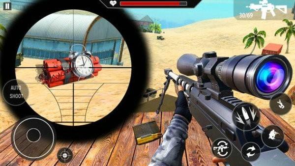 军事狙击手射击2021游戏下载