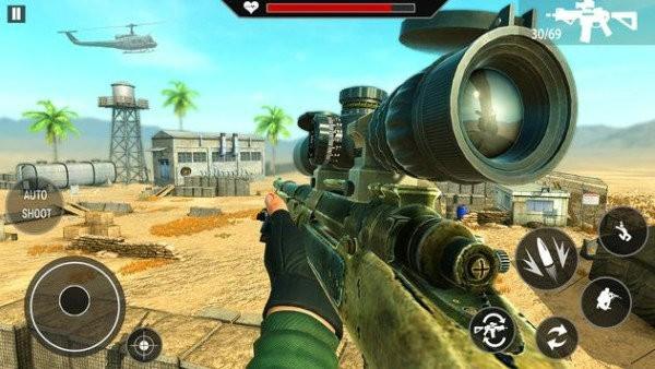 军事狙击手射击游戏安卓版