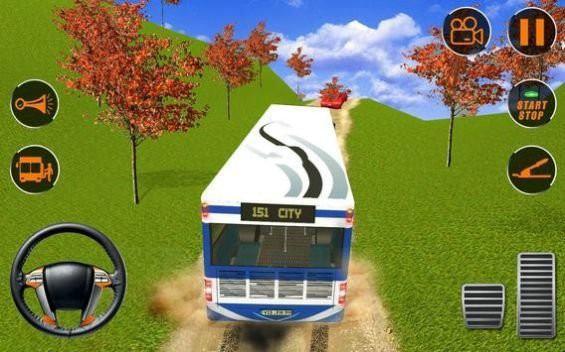 旅游巴士疯狂驾驶游戏手机版下载