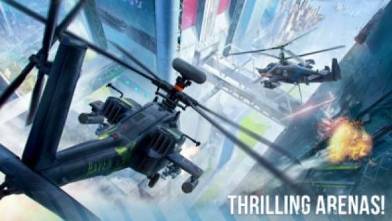 现代战争直升机中文破解版