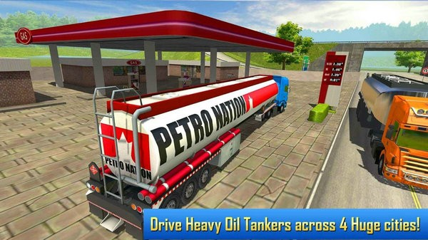 油罐卡车模拟器游戏下载