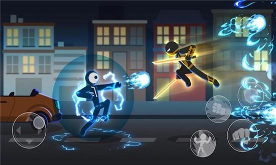 火柴人超人格斗3D安卓版