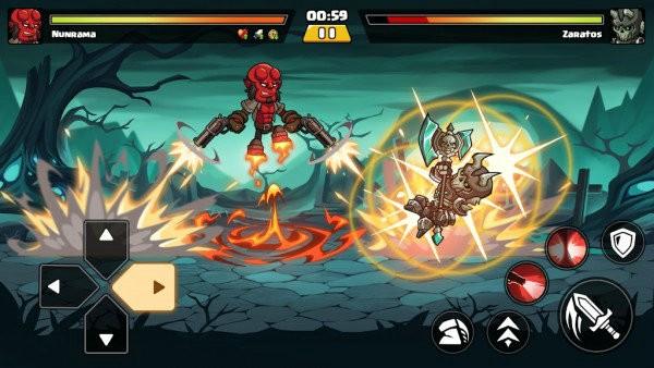超级勇士格斗安卓版下载