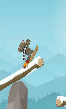火柴人滑雪板