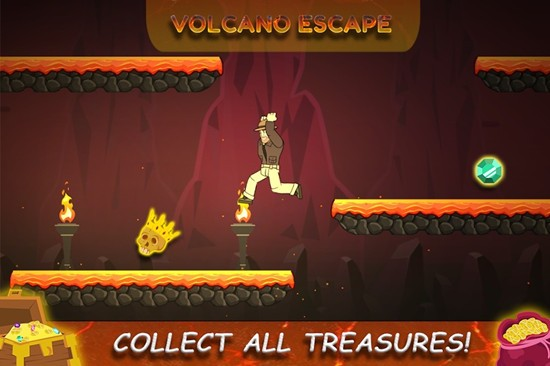 火山逃生游戏中文版