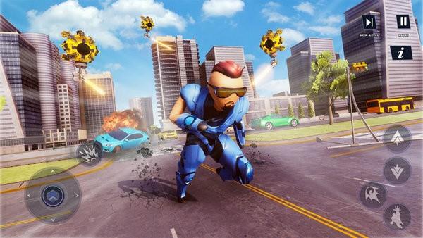 火柴人铁机器人超级英雄下载手机版