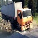 欧洲山地货车驾驶