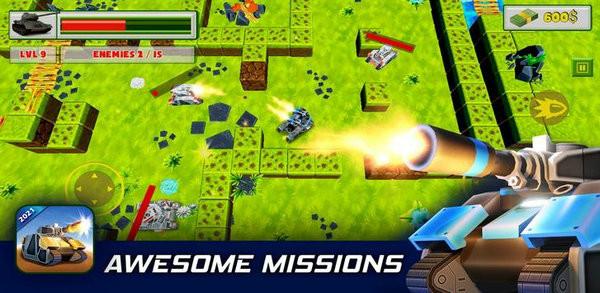 坦克战场杀手游戏安卓版