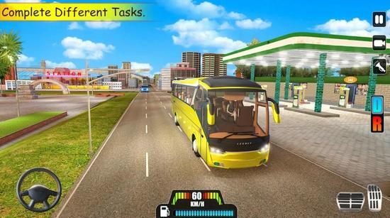 疯狂山顶巴士驾驶手机版