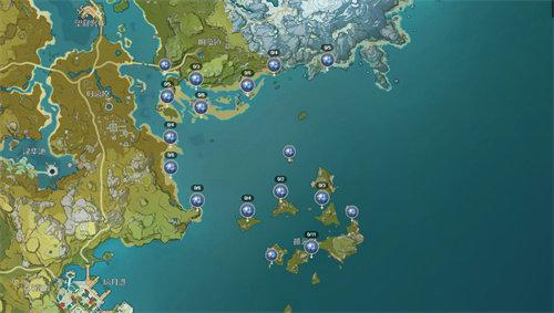 原神星螺在哪里采集 原神星螺分布图一览