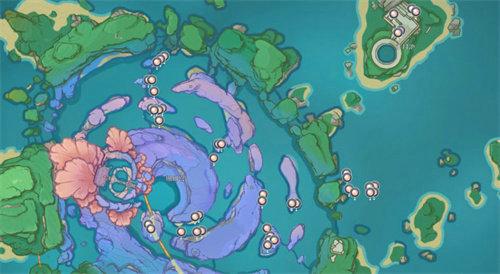原神珊瑚真珠采集地点汇总 原神珊瑚真珠分布位置图分享